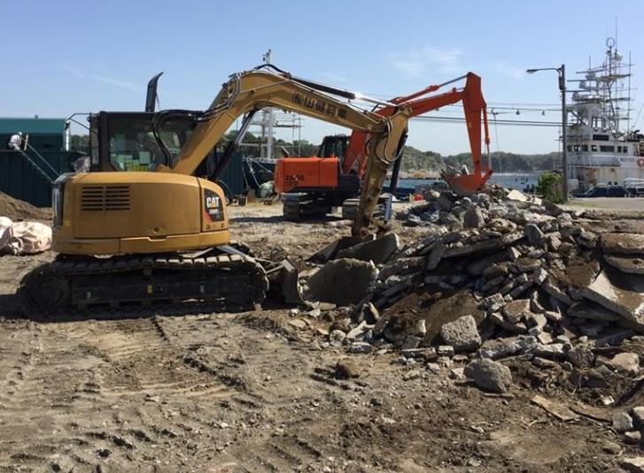 廃棄・解体・造成・外構までの一貫工事