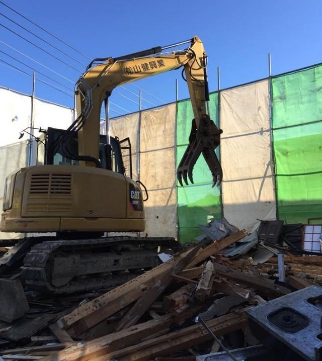 木造家屋の解体